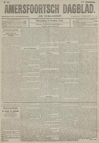 Amersfoortsch Dagblad / De Eemlander 1913-10-08