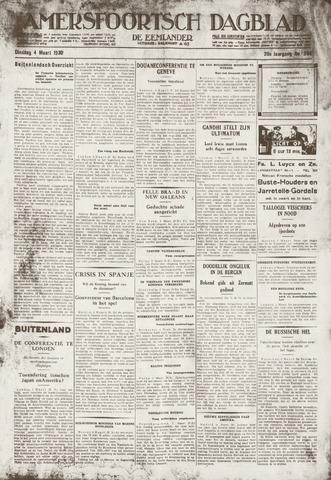 Amersfoortsch Dagblad / De Eemlander 1930-03-04