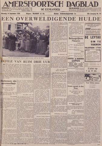 Amersfoortsch Dagblad / De Eemlander 1936-09-14