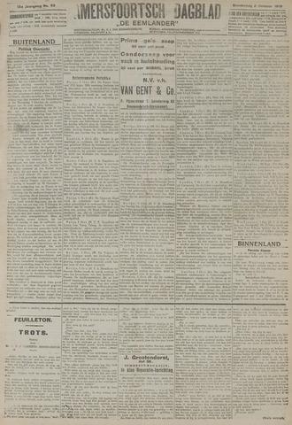 Amersfoortsch Dagblad / De Eemlander 1919-10-02