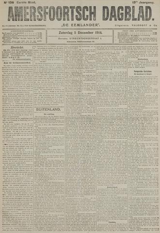 Amersfoortsch Dagblad / De Eemlander 1914-12-05