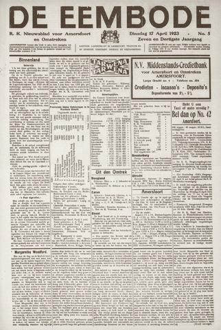 De Eembode 1923-04-17
