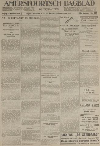 Amersfoortsch Dagblad / De Eemlander 1934-02-23