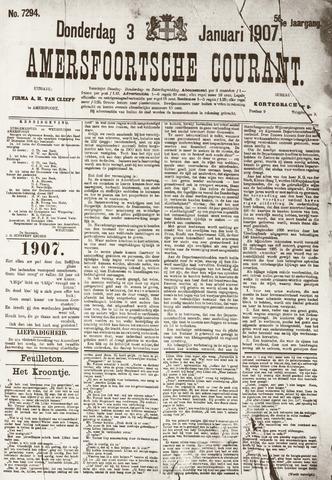 Amersfoortsche Courant 1907