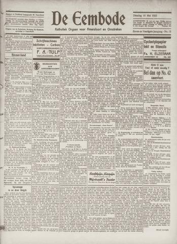 De Eembode 1933-05-16