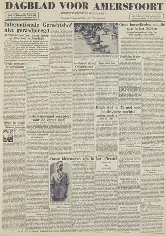 Dagblad voor Amersfoort 1947-08-27