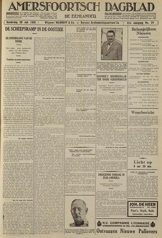 Amersfoortsch Dagblad / De Eemlander 1932-07-28