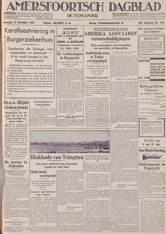 Amersfoortsch Dagblad / De Eemlander 1937-12-27