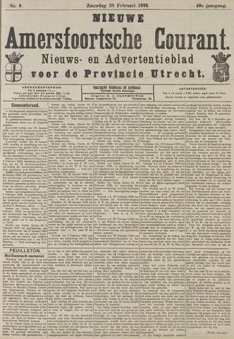 Nieuwe Amersfoortsche Courant 1920-02-28