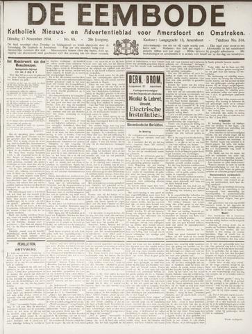 De Eembode 1914-11-17