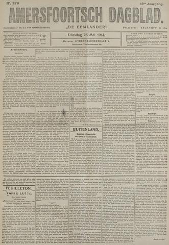 Amersfoortsch Dagblad / De Eemlander 1914-05-26