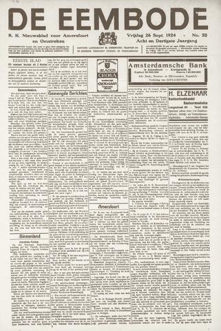 De Eembode 1924-09-26