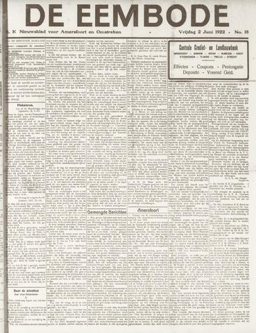 De Eembode 1922-06-02