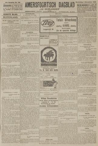 Amersfoortsch Dagblad / De Eemlander 1925-11-04