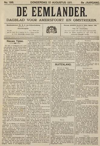 De Eemlander 1911-08-10