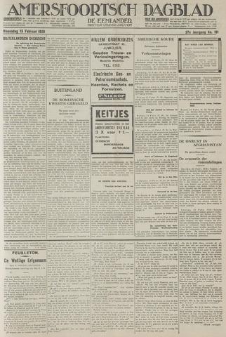Amersfoortsch Dagblad / De Eemlander 1929-02-13