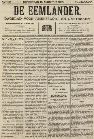De Eemlander 1910-08-18