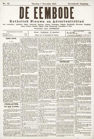 De Eembode 1903-11-07
