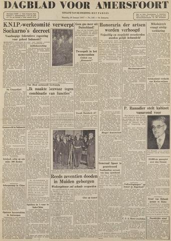Dagblad voor Amersfoort 1947-01-20