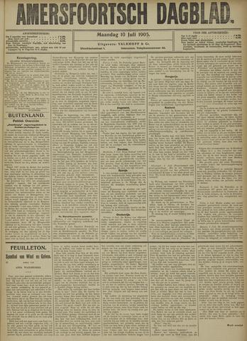 Amersfoortsch Dagblad 1905-07-10