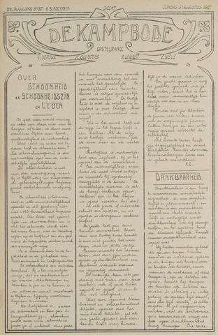 De Kampbode 1917-08-05