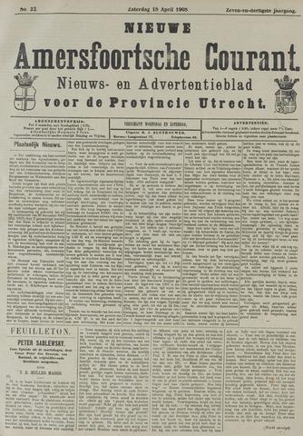 Nieuwe Amersfoortsche Courant 1908-04-18