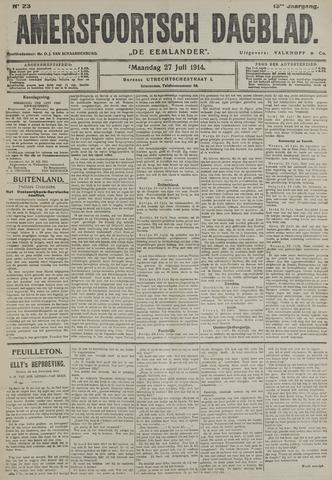 Amersfoortsch Dagblad / De Eemlander 1914-07-27