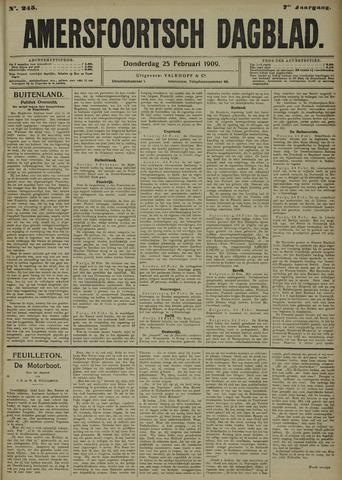 Amersfoortsch Dagblad 1909-02-25