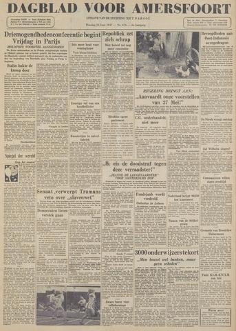 Dagblad voor Amersfoort 1947-06-24