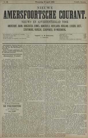 Nieuwe Amersfoortsche Courant 1883-04-18