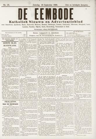 De Eembode 1909-09-18