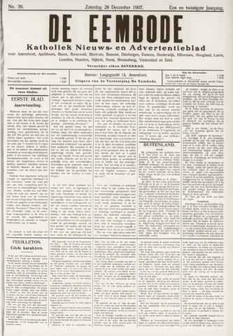 De Eembode 1907-12-28
