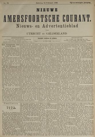 Nieuwe Amersfoortsche Courant 1896-02-15