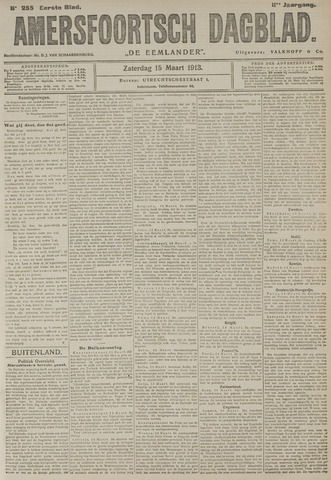Amersfoortsch Dagblad / De Eemlander 1913-03-15