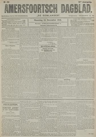 Amersfoortsch Dagblad / De Eemlander 1913-12-22
