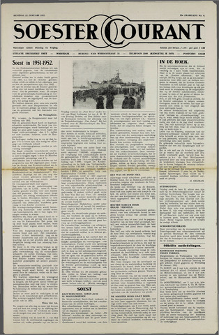 Soester Courant 1952-01-22