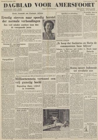 Dagblad voor Amersfoort 1948-09-21