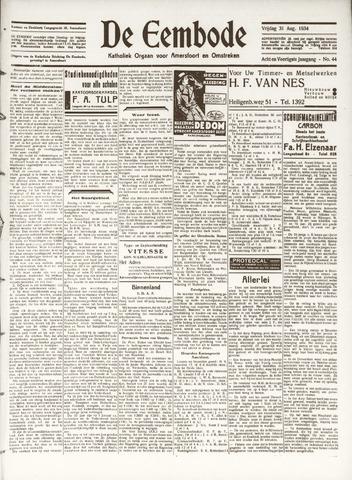 De Eembode 1934-08-31