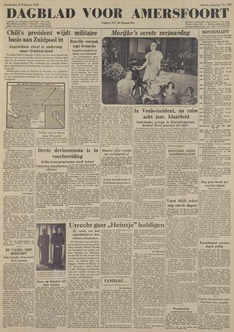Dagblad voor Amersfoort 1948-02-19