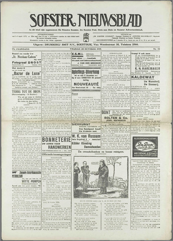Soester Courant 1938-10-28