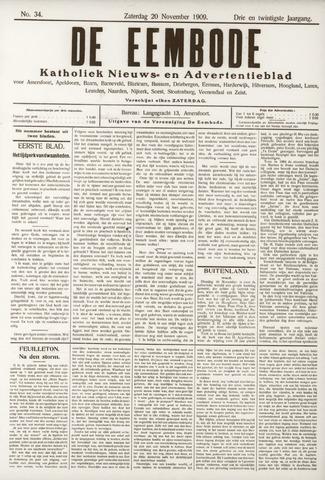 De Eembode 1909-11-20