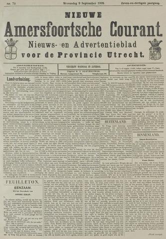 Nieuwe Amersfoortsche Courant 1908-09-09