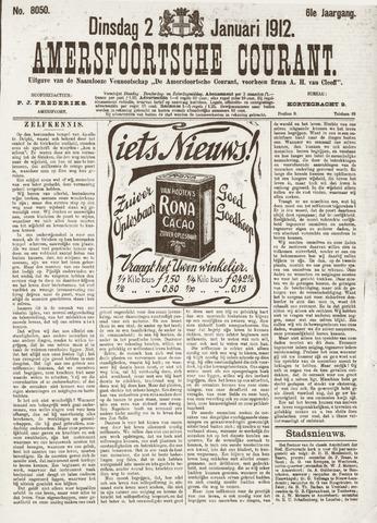 Amersfoortsche Courant 1912