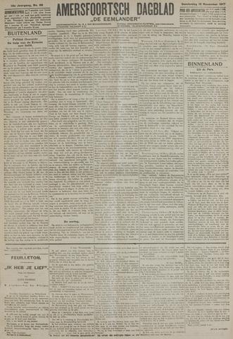 Amersfoortsch Dagblad / De Eemlander 1917-11-15