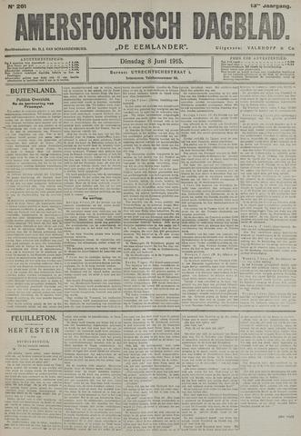 Amersfoortsch Dagblad / De Eemlander 1915-06-08