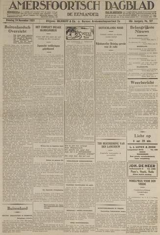 Amersfoortsch Dagblad / De Eemlander 1931-11-24