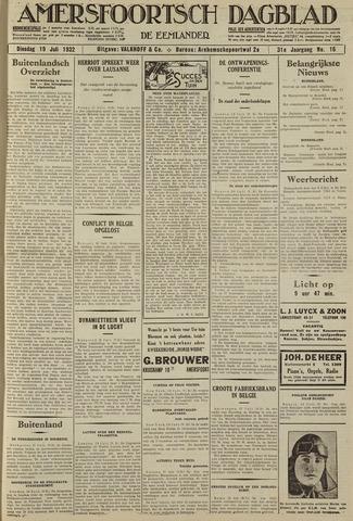Amersfoortsch Dagblad / De Eemlander 1932-07-19