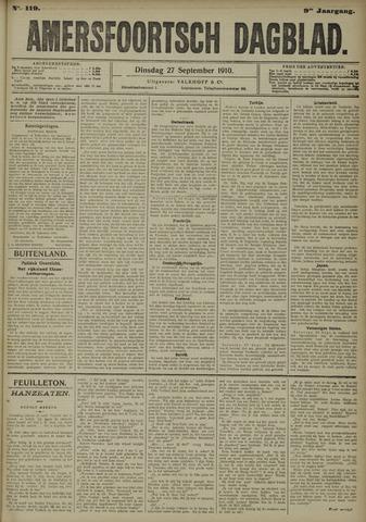 Amersfoortsch Dagblad 1910-09-27