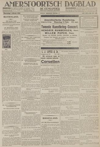 Amersfoortsch Dagblad / De Eemlander 1928-02-01