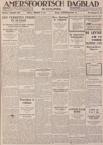 Amersfoortsch Dagblad / De Eemlander 1936-09-07
